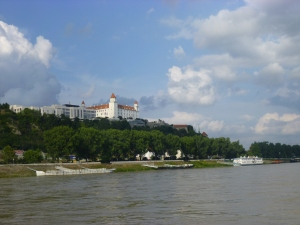 To Bratislava by Boat