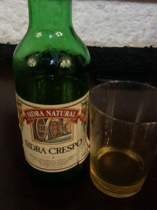 Yummy cider - drink it quick!