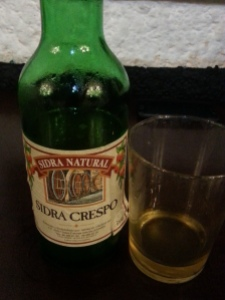 Yummy cider - drink it quick!