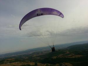 Not quite a Parachute yet but I did Paraglide!
