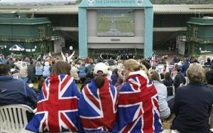 Henman Hill at Wimbledon