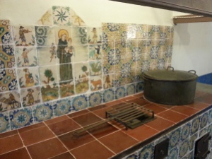 In the Monastery Kitchen