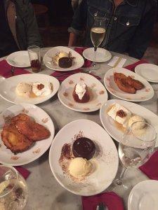 Mmmmm desserts
